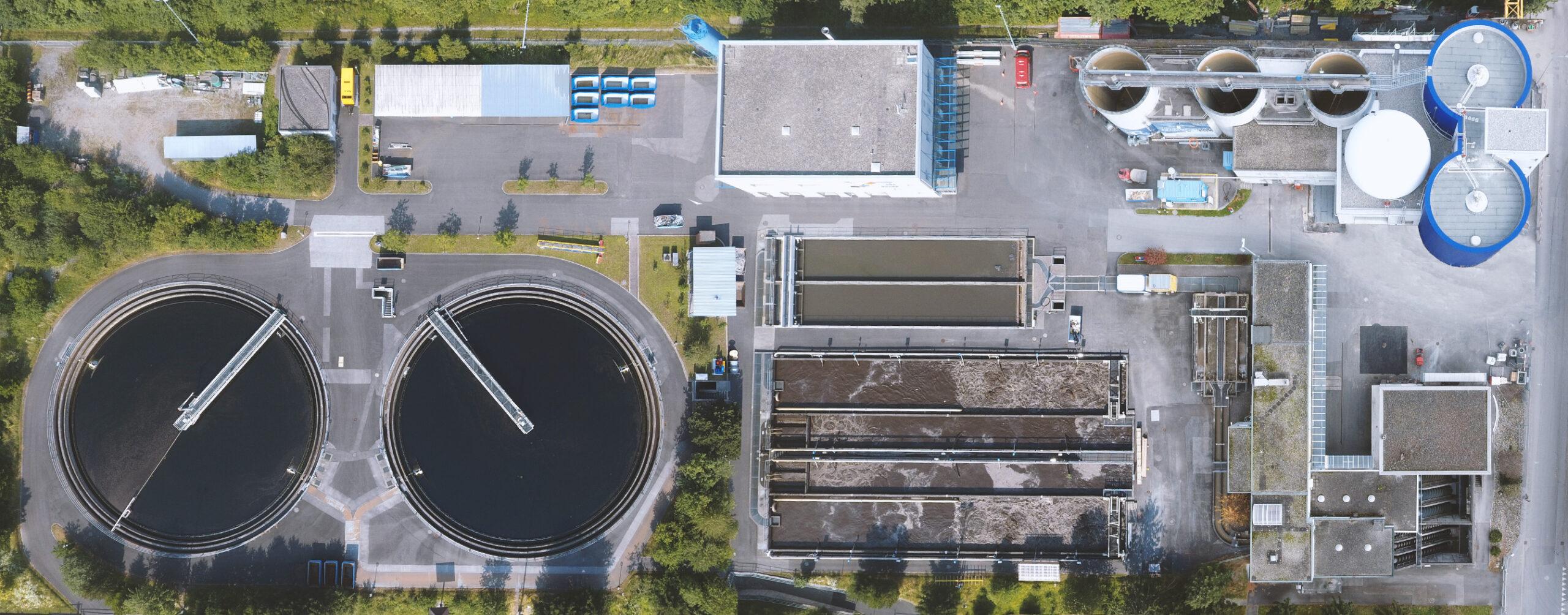 Gesamtanlage Abwasserverband Buchs Sevelen Grabs Abwasserreinigungsanlage