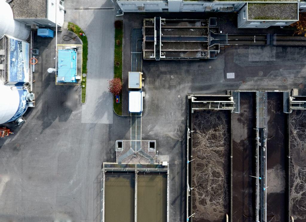 Biogasanlage auf der ARA Buchs